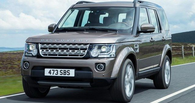 New 2015 Land Rover Discovery