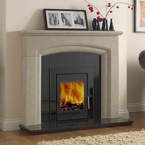 inset fireplaces wood burning stoves - Google Search