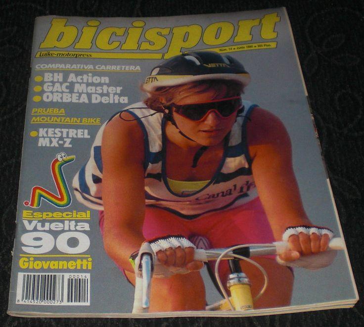 Revista Ciclismo Bicisport Num 14 Junio 1990 Comparativa BH GAC ORBEA Especial Vuelta 90 Giovanetti POSTER Fabio Parra A DOBLE HOJA  Y mucho + por descubrir ¿te lo vas a perder?