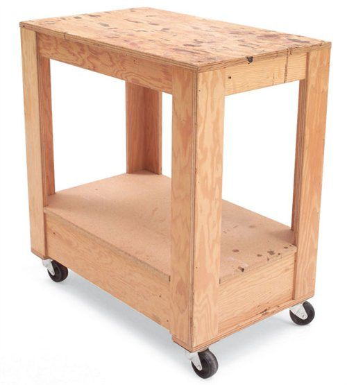 plywood cart woodworking projects plans
