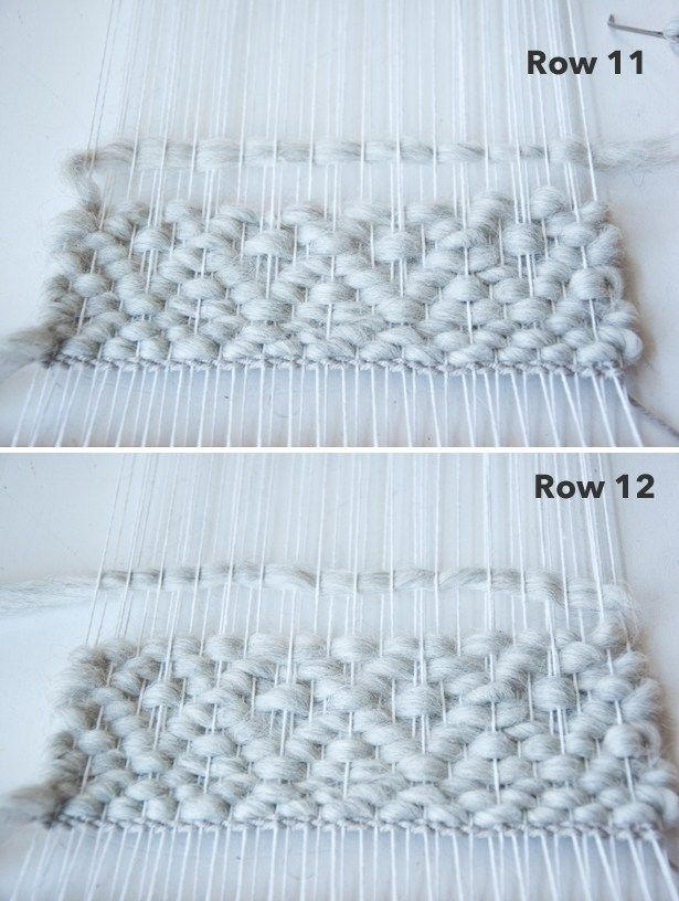 Double Diamond Pattern| The Weaving Loom