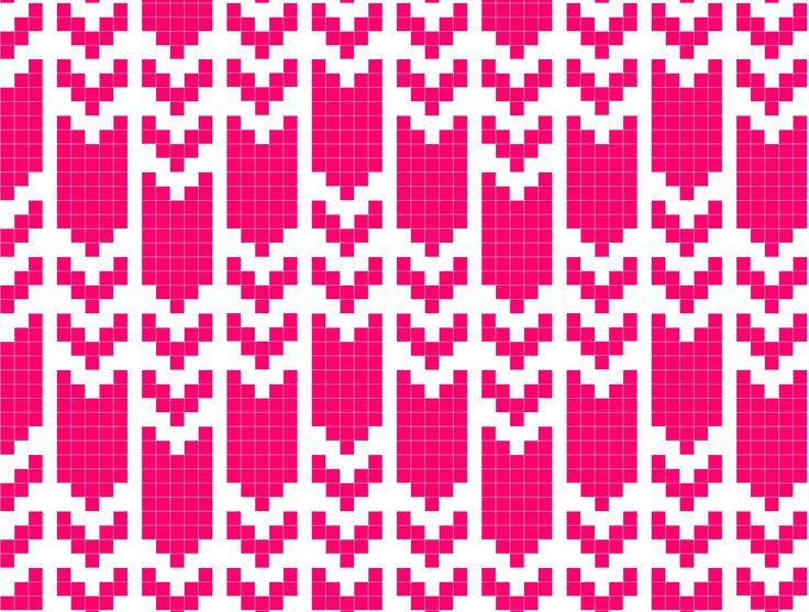 319 best Colour Work Knitting images on Pinterest | Knitting ...