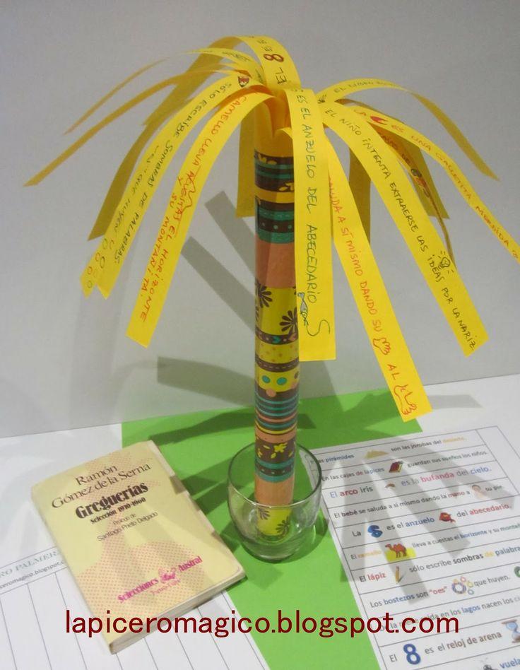 LAPICERO MÁGICO: Libro palmera Cómo fabricar un libro plamera. Taller de Libros.