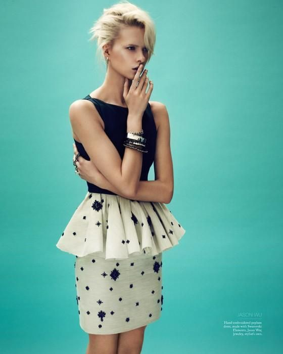 Salt Magazine by Swarovski  Spring/Summer 2012  Model: Alyona Subbotina  Photographer: Beau Grealy  Stylist: Kate Sebbah