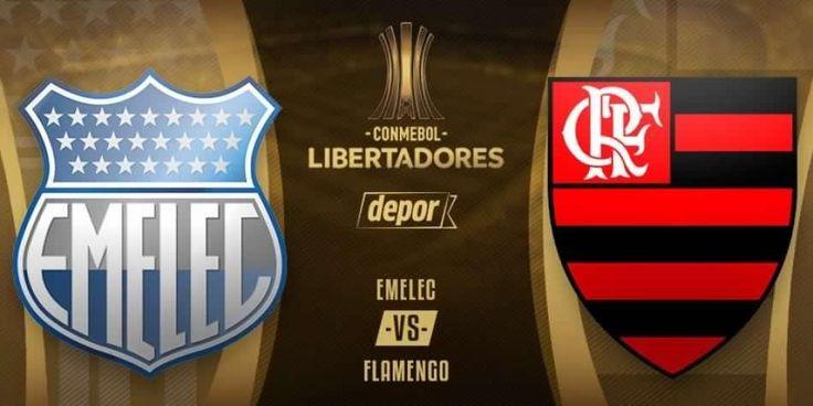 Emelec vs. Flamengo EN VIVO juegan hoy en Guayaquil por Copa Libertadores 2018