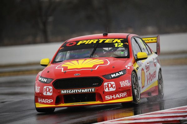 Fabian Coulthard Drives The 12 Shell V Power Racing Team Ford Falcon Fgx During Practice For The Supercars Winto Super Cars V8 Supercars Australia Ford Falcon