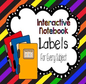 Interactive Journal Labels - Growing Bundle