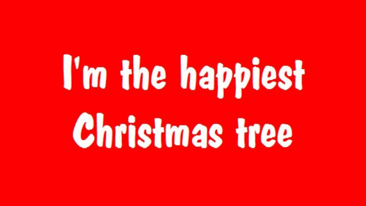 Happiest Christmas Tree Song With Lyrics