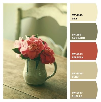 French Country Paint colors from Chip It! by Sherwin-Williams