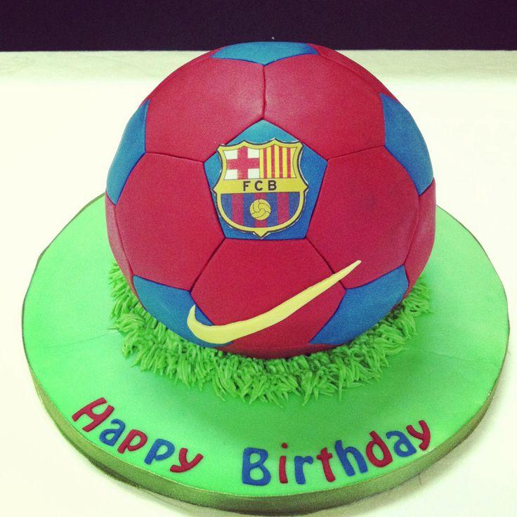 FC Barca football cake