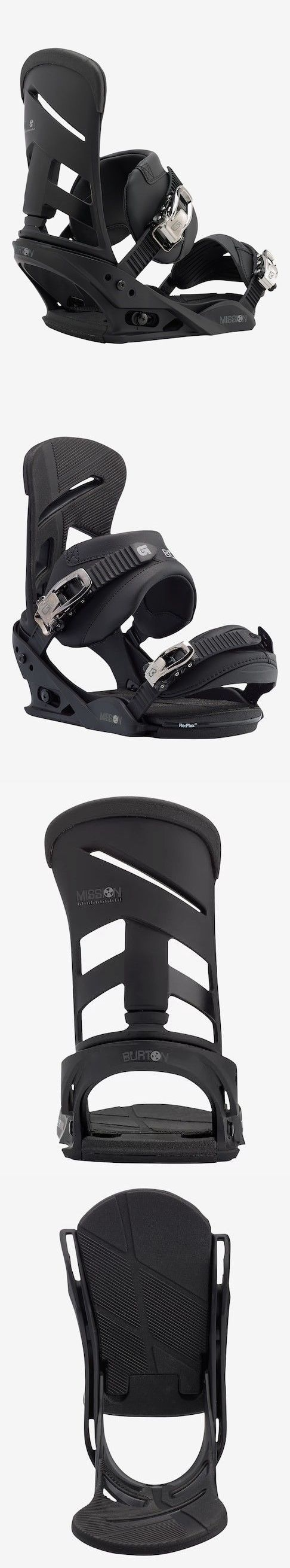 Bindings 21248: Burton Mission Reflex Snowboard Bindings 2017- Mens Large ( Shoe Size 10+) New -> BUY IT NOW ONLY: $189.95 on eBay!