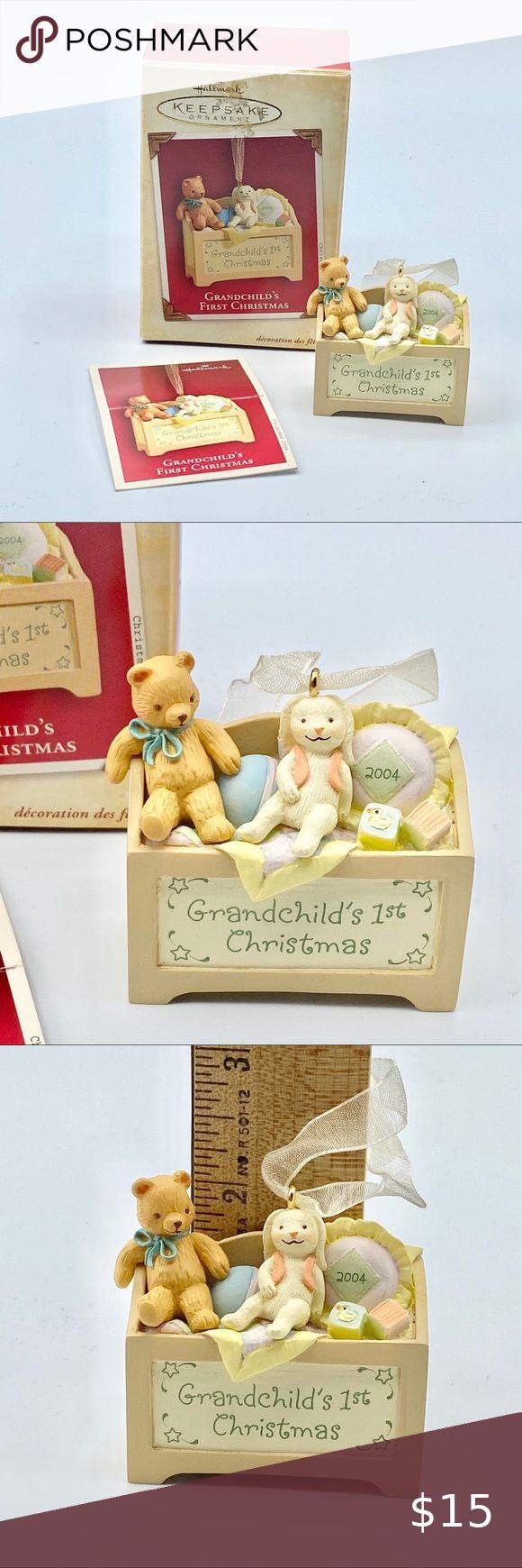 2004 Hallmark Grandchild's 1st Christmas Ornament in 2020