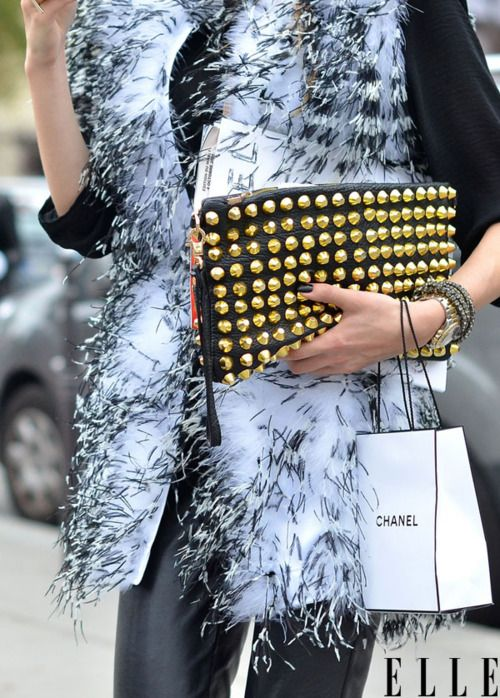 See all the finest details from Paris Fashion Week! Photo: Courtney DAlesio