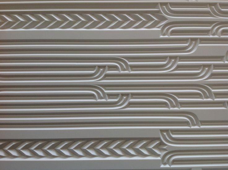 Carved Corian CNC Door detail CarveX