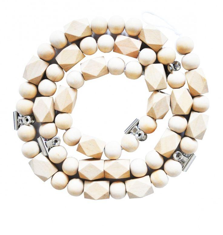 imakin DIY-kit wooden beads interior necklace / DIY-pakket Woonketting