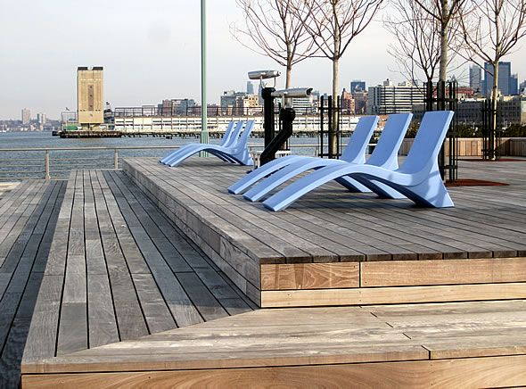 hudson river pier | ... take the piers the kids park and the modern chais on the new pier 25