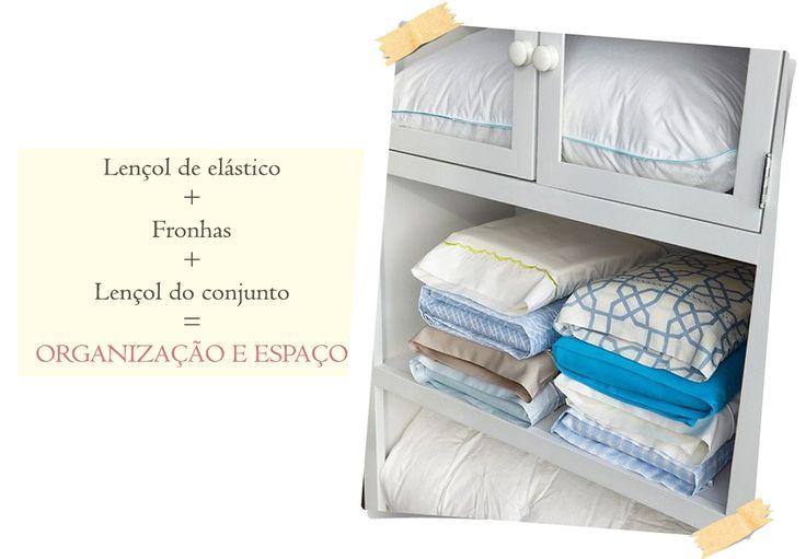Como organizar roupas de cama e banho-01