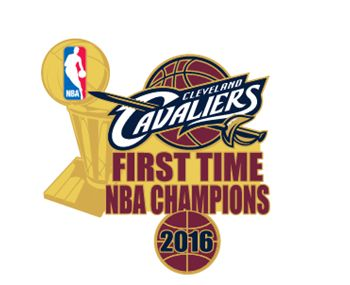 Picture of 2016 NBA Champions First Time Champs Pin