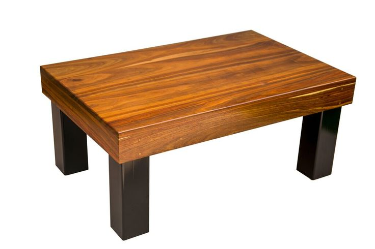 Kiaat wood coffee table