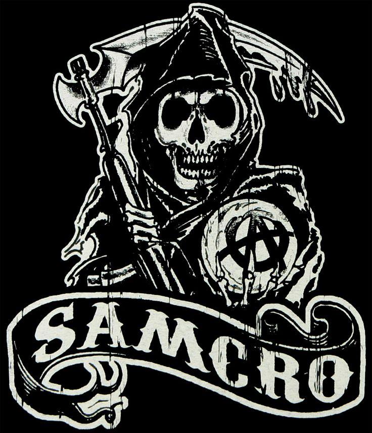 Camiseta chica Sons of Anarchy. Samcro. Modelo 2 https://www.fanprint.com/stores/nascar-?ref=5750