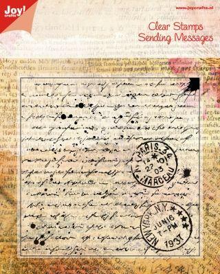 Noor! Design stempel Old Letter 6410/0024  1 st.