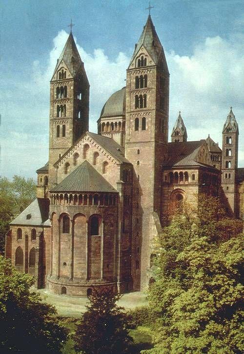 Catedral de Spira (Alemania), S. XI. -Románico Alemán. -18