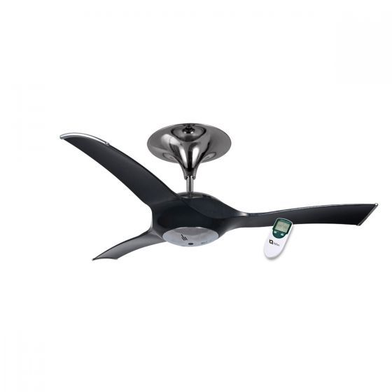 "Ventair Stealth 56"" Designer Ceiling Fan - iQ Fan"