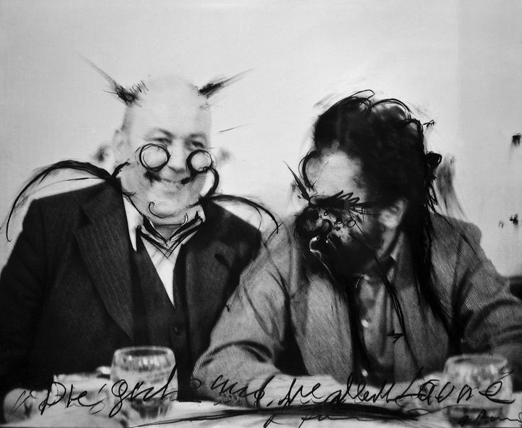 Dieter Roth and Arnulf Rainer