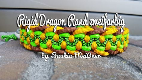 Rigid Dragon Rand zweifarbig 30mm breit Farbe1/ 7 Farbe 2/ 7 Farbe3/ 4.7 Farbe4/ 8