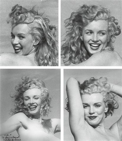 Just amazing Marilyn...photographed by Andre de Dienes