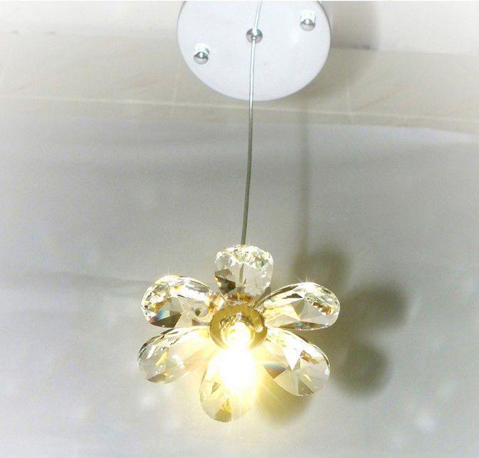 Flower Crystal Lampshade Chandelier Lighting Fixtures Ceiling Lamp Pendant Light  | eBay