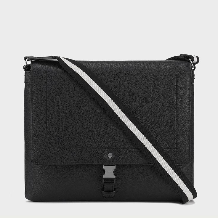 Kenny Leather Messenger Bag