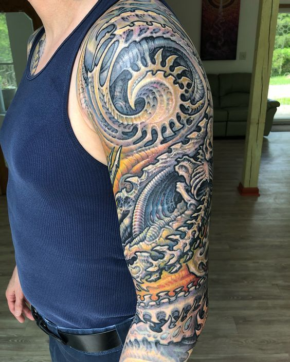 0ea600a9d Best 30+ Awesome Half Sleeve Tattoos For Men | IF Magazine | Tattoos ...