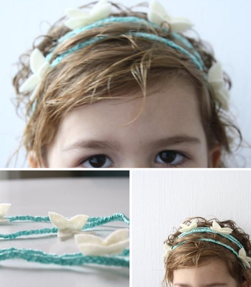 butterfly child headband ..tutorial  <--- I need this!!!