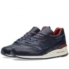 New Balance x Horween Leather Co. M997BEXP 'Explorer' - Made in the USA (Navy & Tan)