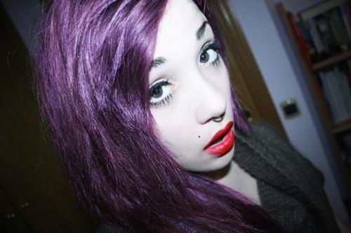 http://25.media.tumblr.com/tumblr_lv5ukxInFi1qcc32mo1_500.jpg: Trashy Hair, Heart Hair, Hair Style, Hair Color