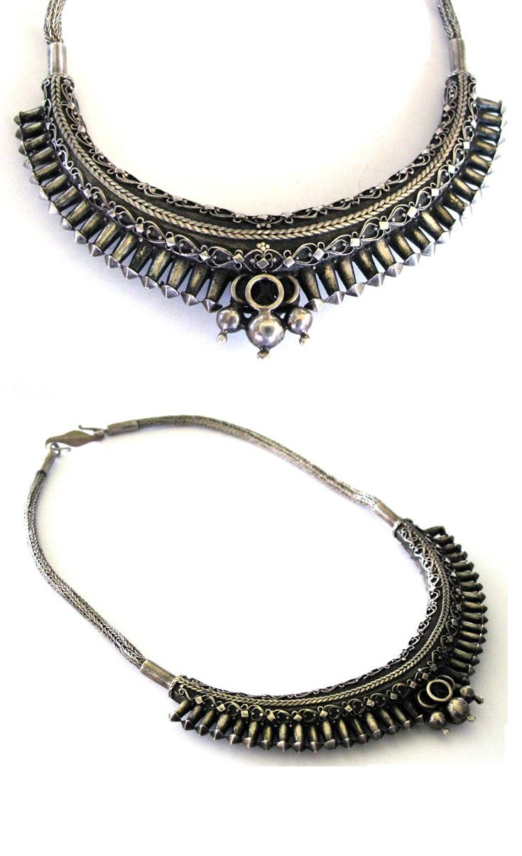This is a century solid silver necklace from sri lanka formerly ceylon and from the old capital city of kandy in the island s central highlands
