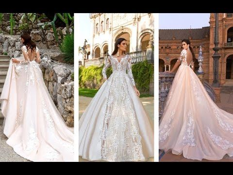 Потрясающие свадебные платья ФОТО 2017