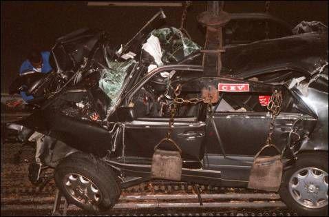 of Princess Dianas car
