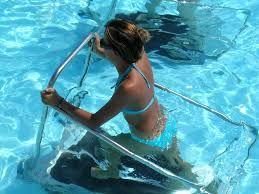 havuz içi yürüme bandı ile çalışma