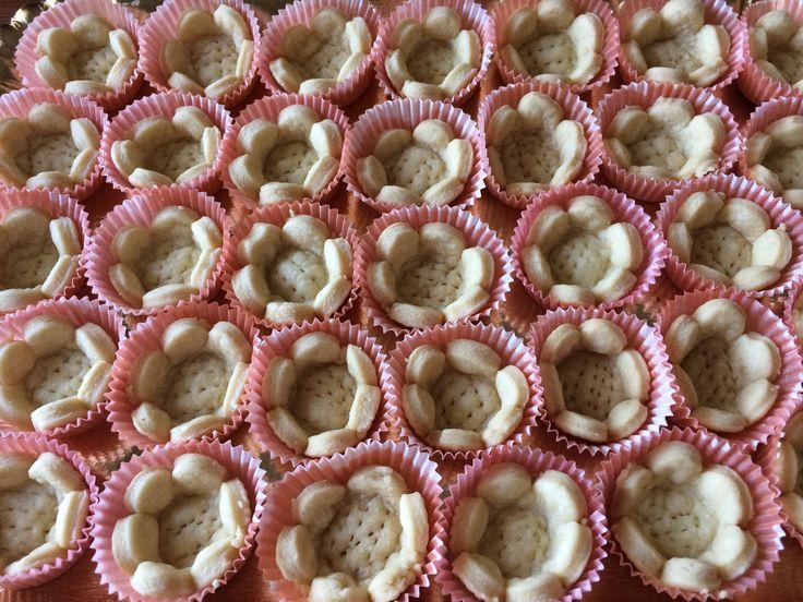 """Cestini di """" Pasta Brisee'""""buoni per buffet, feste, aperitivo, per ogni occasione... https://youtu.be/QXI3njKg1q0 🌸🌸🌸🌸"""