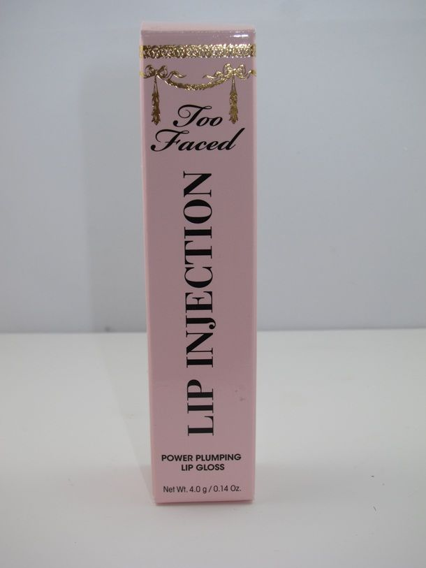 Too Faced Lip Injection Lip Gloss Review and Swatches | http://www.musingsofamuse.com/2013/01/too-faced-lip-injection-lip-gloss-review-swatches.html