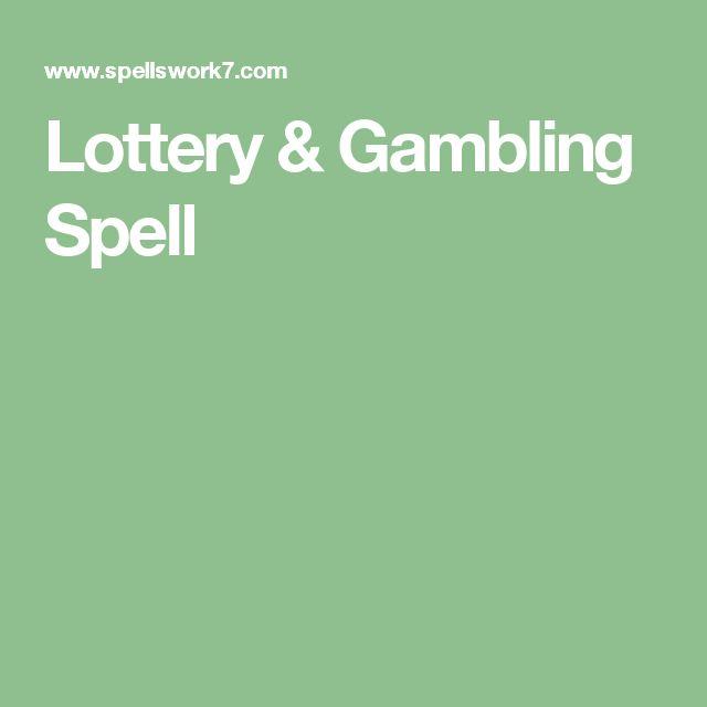 Free gambling luck spells