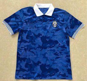 Juventus 2017-18 Season Blue Juve Polo Shirt [J952]