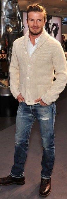 Help me find a similar sweater as David Beckham's