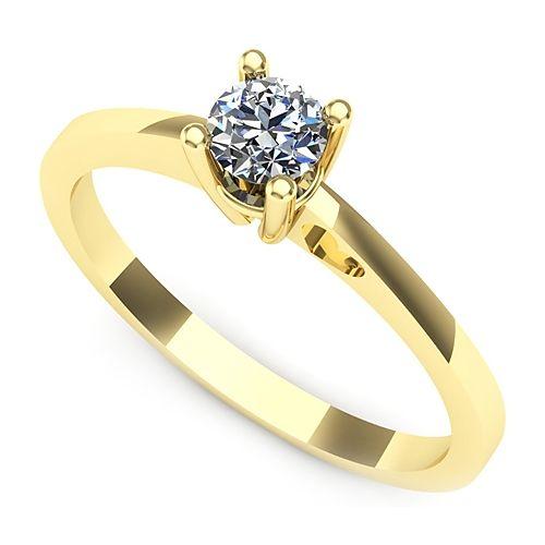 Inel logodna L44GDI Inel cu diamant
