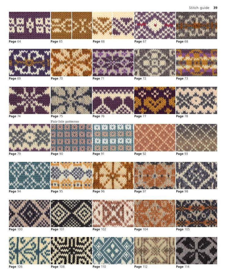 179 best Fair Isle Patterns images on Pinterest   Strickmuster ...