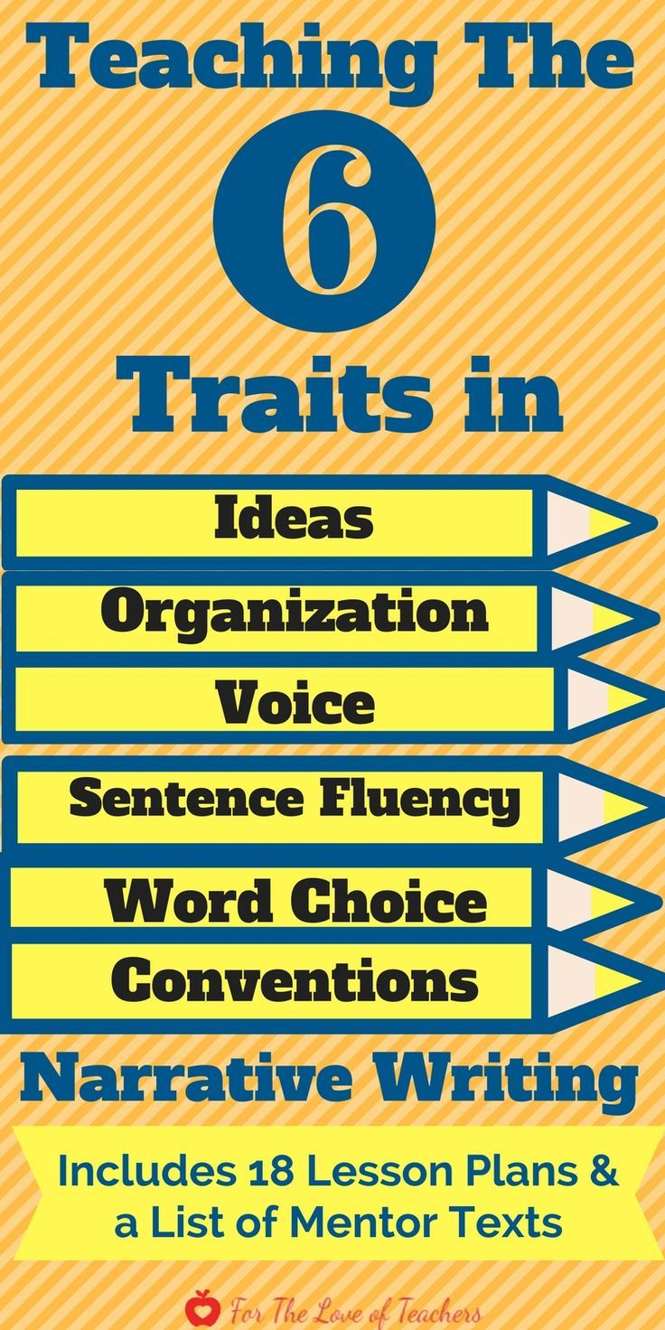 six traits of writing lesson plans This lesson on volcanoes and paragraph writing is part of a collection of lesson plans featuring multi-sensory approaches to help all learners, including special.