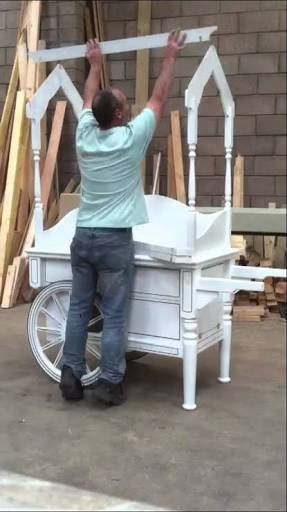 how to make a collapsible candy cart - Google Search