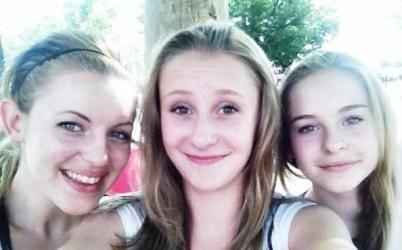 Brittany, Danielle and Sydney Wolferts.